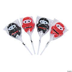 Ninja Character Lollipops
