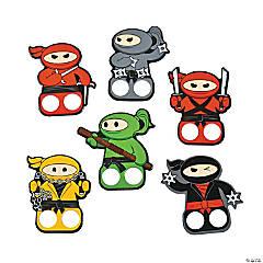 Ninja Finger Puppets