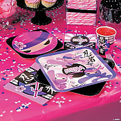 Ninja Girl Party Supplies