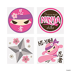 Ninja Girl Tattoos