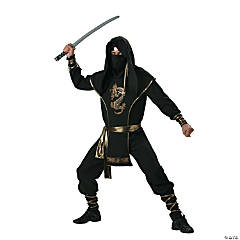 Ninja Warrior Adult Men's Costume