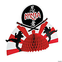 Ninja Warriors Centerpiece