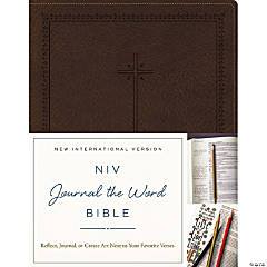 NIV Journal The Word Bible-Brown