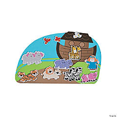 Noah's Ark Foam Sticker Scenes