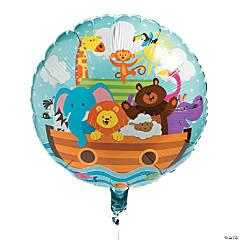 Noah's Ark Mylar Balloon