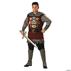 Noble Knight Plus Size Adult Men's Costume