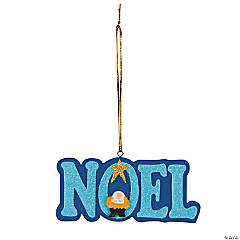 Noel Nativity Christmas Ornaments
