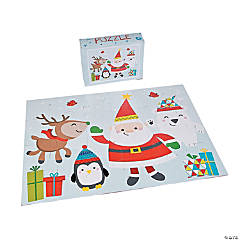 Nordic Noel Christmas Floor Puzzle