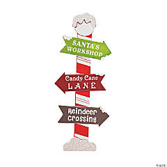 North Pole Directional Bookmark Craft Kit