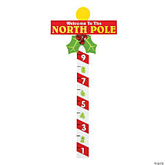 North Pole Snow Measuring Stick Craft Kit