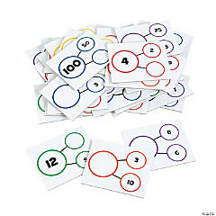 Number Bond Dry Erase Card Set