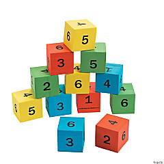 Number Math Dice