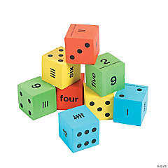 Number Recognition Dice