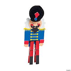 Nutcracker Clothespin Craft Kit