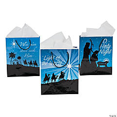 """O Holy Night"" Gift Bags"