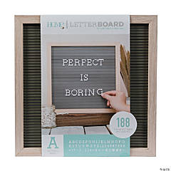 Oak Letter Board Kit - 12""