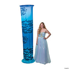 Ocean School of Fish Light-Up Fabric Column