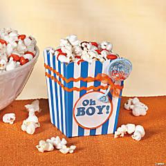 Oh Boy! Popcorn Box Idea