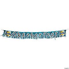 Oktoberfest Foil Fringe Banner