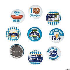 Oktoberfest Party Buttons