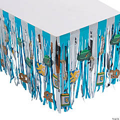 Oktoberfest Table Skirt with Cutouts