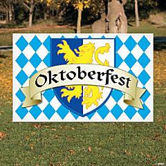 Oktoberfest Yard Sign
