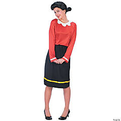 Olive Oyl Adult Women's Costume