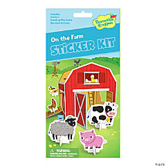 On The Farm Quick Sticker Kit