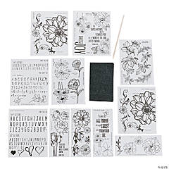 One & Done's Botanicals Transfer Sheets