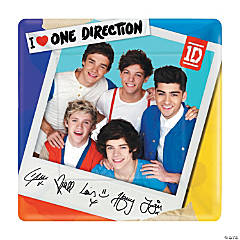 One Direction Dinner Plates