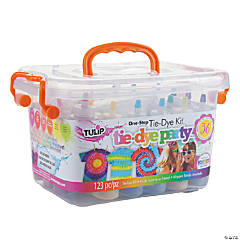 One-Step Tie-Dye Big Box Kit-Pool Party