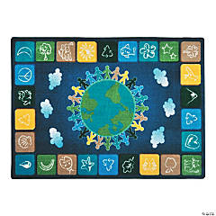 one world classroom rug