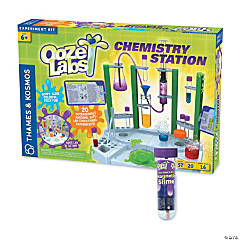 Ooze Lab Chemistry Station With Free Magnetic Slime
