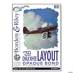 Opaque Bond Layout Pad