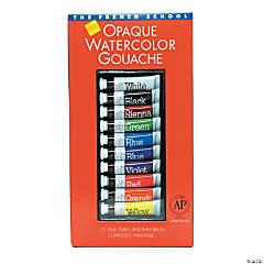 Opaque Watercolor Gouache Paint Tube Set of 10