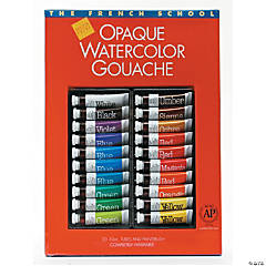 Opaque Watercolor Gouache Paint Tube Set of 20