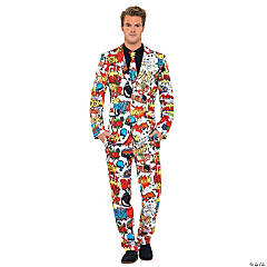 OppoSuits™ Comic Strip Suit for Men