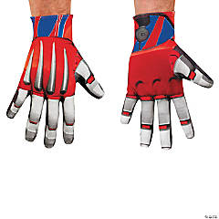 Optimus Prime Costume Gloves