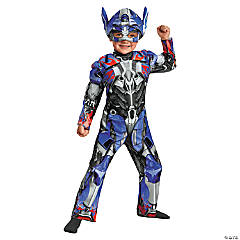Optimus Prime Muscle Jumpsuit for Toddlers