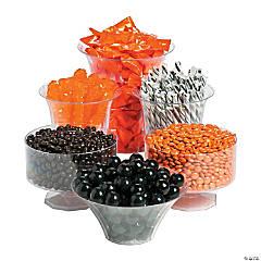 Orange & Black Graduation Candy Buffet Assortment