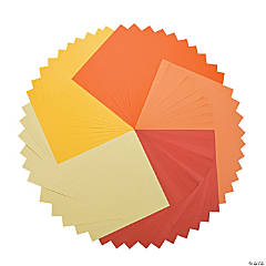 Orange & Yellow Super 50 Paper Pack