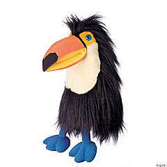 Orange Billed Toucan Large Bird Plush Puppet