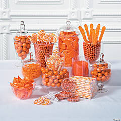 Orange Candy Buffet Supplies