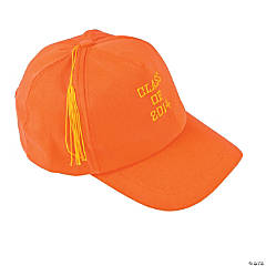 "Orange ""Class of 2014"" Graduation Baseball Cap"