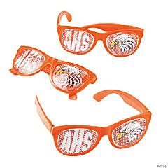 Orange Custom Photo Pinhole Glasses