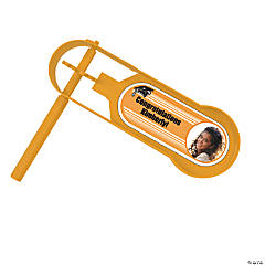 Orange Graduation Custom Photo Giant Noisemakers
