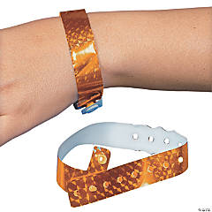 Orange Laser Wristbands