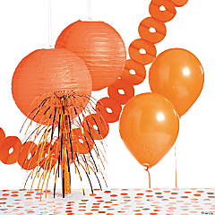 Orange Party Decorating Kit