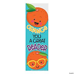 Orange-Scented Bookmarks