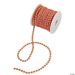 Orange Spool of Pearls
